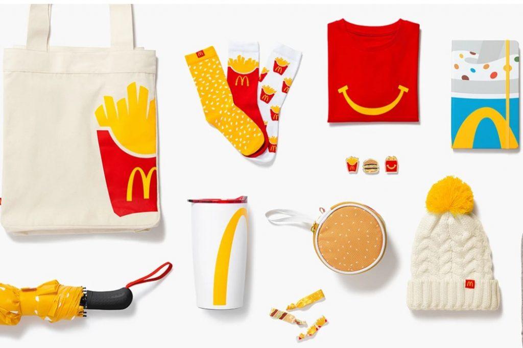 McDonald's launches fashion line 'Golden Arches Unlimited'