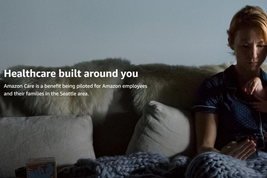 Amazon Care launched in Seattle for employees and their families