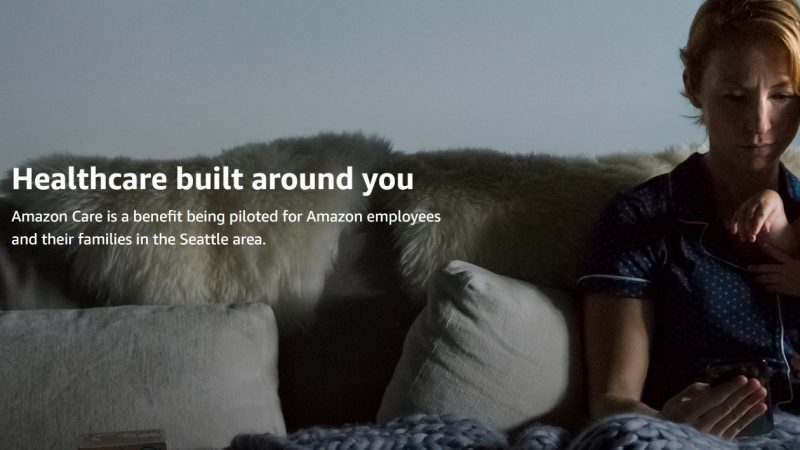 Amazon has launched its new virtual health clinic for employees at its headquarters in Seattle as it drives forward into the healthcare sector.