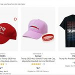 Amazon has been found to be selling a range of politically sponsored products on its website despite prohibiting any sponsored content promoting 2020 campaigns or political parties.