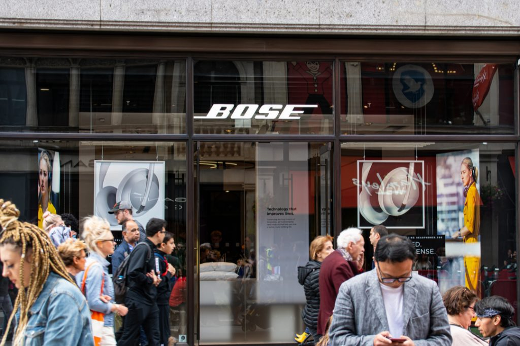 Bose to shut 119 stores across Europe, US and Australia threatening hundreds of jobs