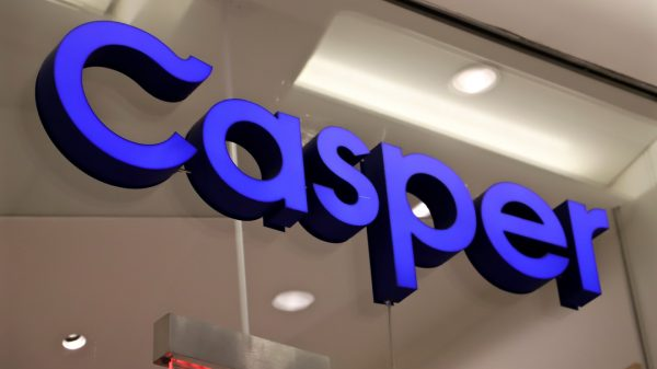 Casper has seen its shares rise nearly 13 per cent during its first day of trading despite a troubled IPO which valued it well below expectations.