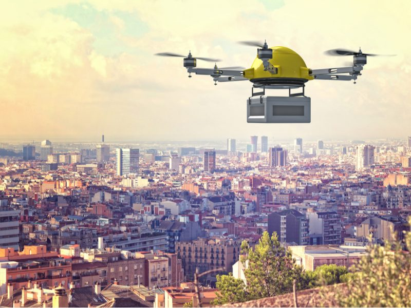 Drones have been regularly hitting the headlines recently, and with many global corporations investing heavily in drone technology, the future of drones looks bright. But are we getting ahead of ourselves when we talk about drones replacing couriers in the near future?