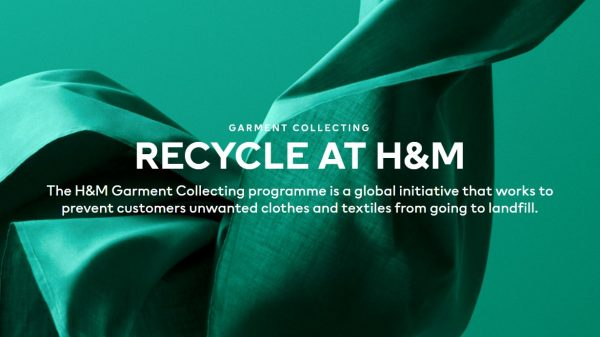 H&M is set to become the first brand to launch a range of clothes made from 50 per cent recycled jeans and 50 per cent sustainably sourced wood.