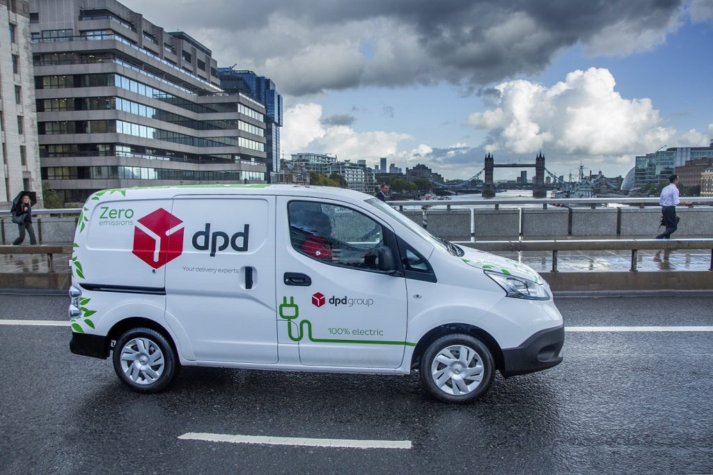 """DPD buys 300 EV delivery vans in what it calls """"an all-encompassing revolution for our industry"""""""