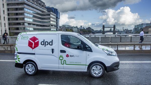 DPD has bought 300 electric Nissan delivery vans creating the UK's largest electric vehicle (EV) delivery fleet amid a major sustainability push.