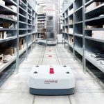 Tesco has enlisted the help of Ocado's tech partner Swisslog to roll out automated robots at its logistics centres across the UK.