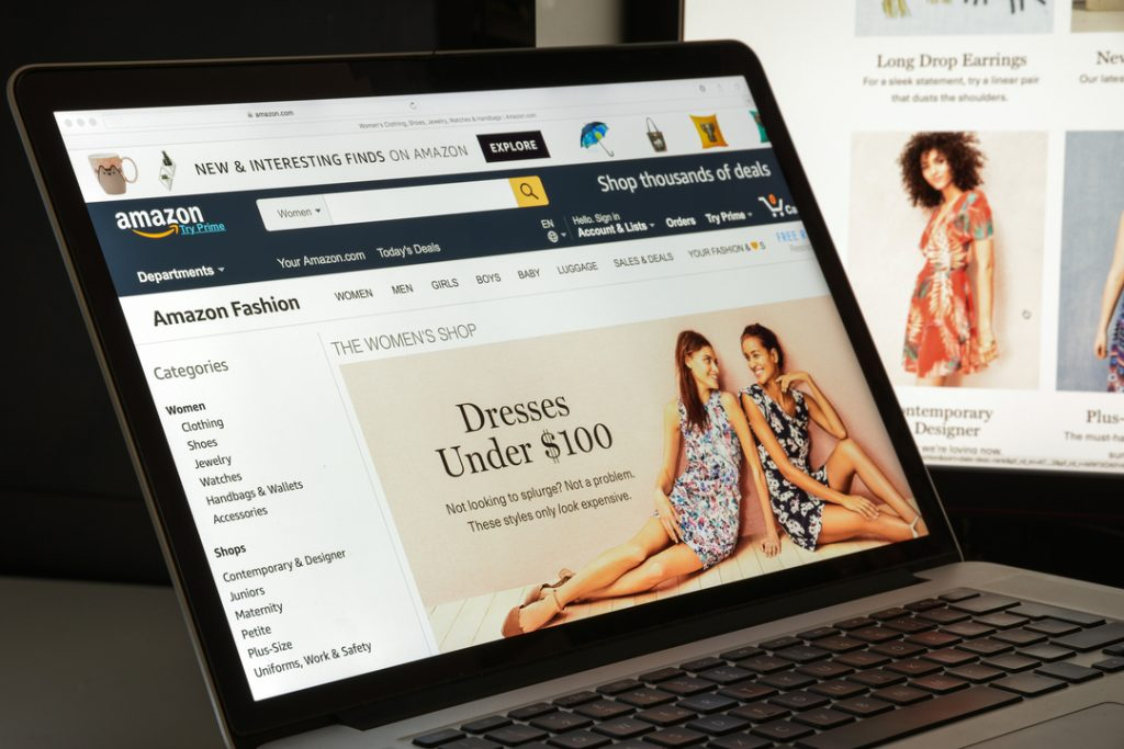 Amazon accounts for 14% of all UK online menswear spend as it challenges Asos