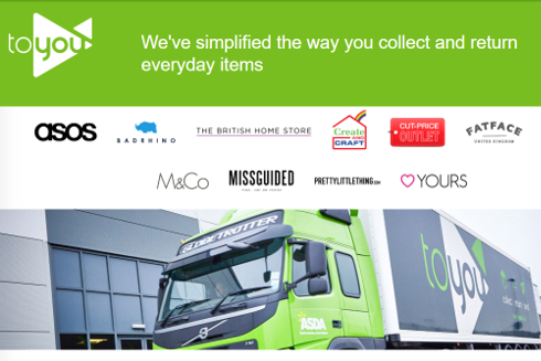 Asda revamps ToYou third-party online collect and returns service
