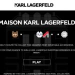 Karl Lagerfeld has become the latest luxury fashion retailer to launch a branded video game to promote its new Pixel Collection.