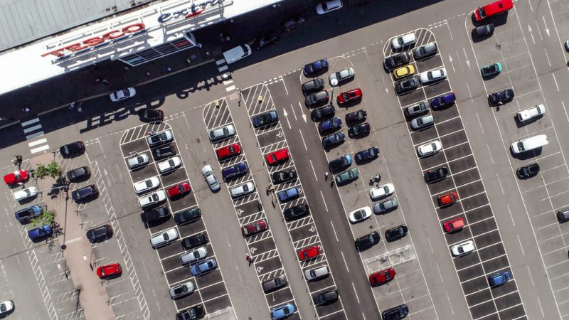 Tesco and Morrisons are set to rent out hundreds of parking spaces to non-customers via a new partnership with the YourParkingSpace app.