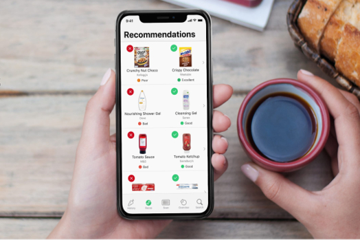 Yuka is an app which aims to do away with misleading food labels allowing users to scan barcodes and instantly see the health impact of what they're buying.