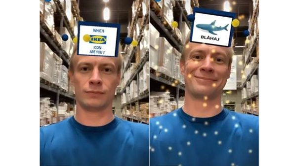 "Ikea has launched a new interactive Instagram app aiming to cash in on the ""What X Are You"" filter trend dominating the social media platform."