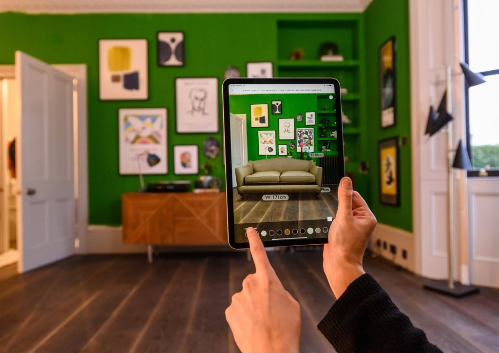 John Lewis launches Virtual Sofa AR feature to its app