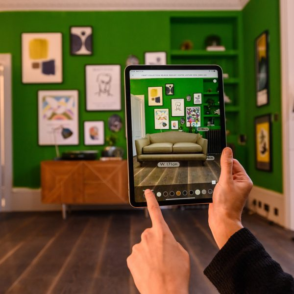 johnlewJohn Lewis is launching a new augmented reality feature to its iOS app allowing shoppers to virtually place sofas in their home before purchase.is_73721464728350