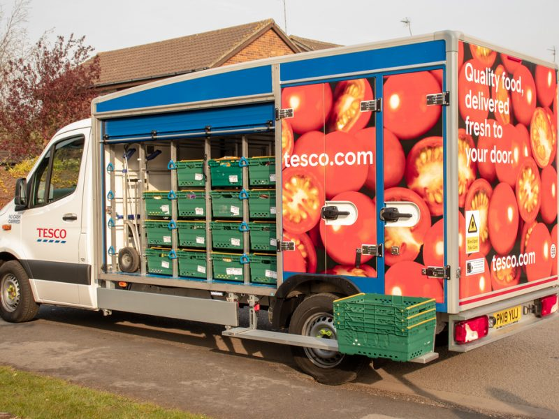 Tesco has imposed limits on online orders in attempts to limit panic buying and ensure everyone has access to essential goods and food.