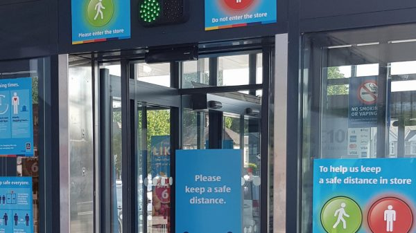 Aldi's automated traffic light systems being rolled out across its UK stores are due to receive major upgrades to help deaf and blind shoppers.