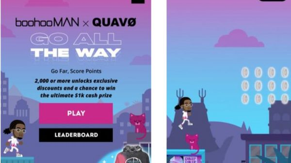 BoohooMan has launched its first ever video game to mark the launch of its second collection with rapper Quavo.