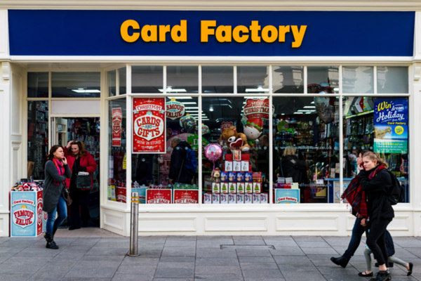 Card Factory has launched a new mobile app as it pushes to expand its online offering while its stores remain shut across the UK.
