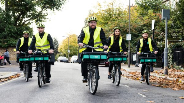 Sainsbury's is dramatically expanding its rapid e-bike delivery service giving millions of households across the UK access to one-hour delivery.