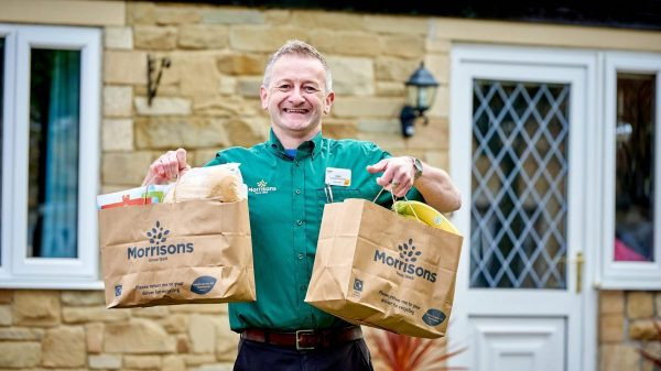 Morrisons' next-day telesales shopping service, launched for those with limited internet access, has proven wildly popular with customers during lockdown.