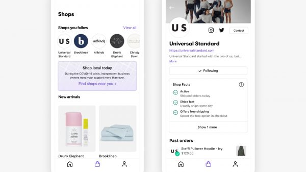 Shopify has launched its own consumer shopping app allowing users to browse goods from local independent businesses.