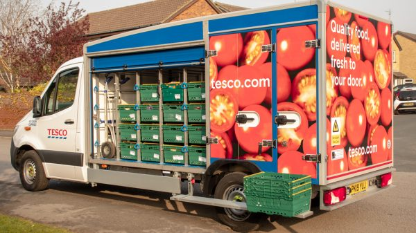 Tesco has begun removing purchase limits for online orders and essential items as its operations begin adjust to the new normal.