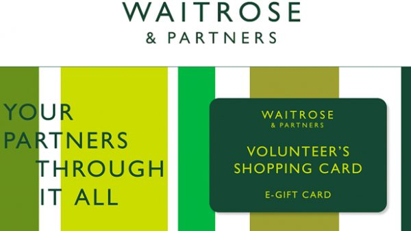 Waitrose has launched e-gift cards for vulnerable customers in self-isolation enabling them to digitally send payments to volunteers doing their shopping.