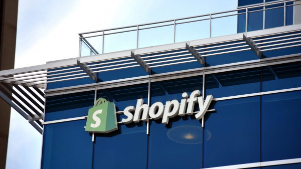 Shopify has seen sales double for its third consecutive quarter as hundreds of thousands of new merchants signed up to its platform during the pandemic.