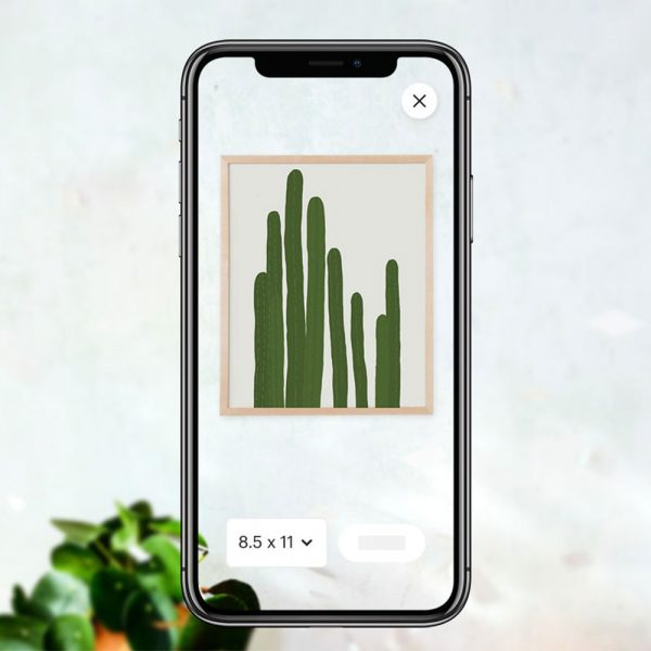 Etsy has launched a new augmented reality (AR) app allowing shoppers to virtually preview over 5 million paintings, photographs and prints in their homes.