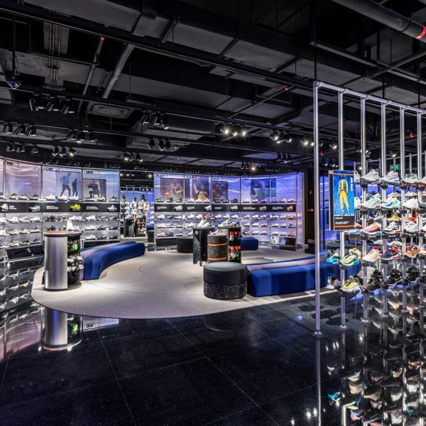 Nike has launched a new high-tech concept store in Guangzhou, China featuring a range of cutting-edge retail technologies.