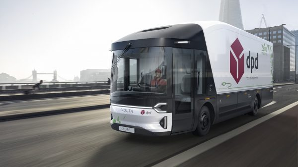 "DPD is set to begin testing ""the world's first purpose-built full-electric large commercial vehicle"" in Central London."