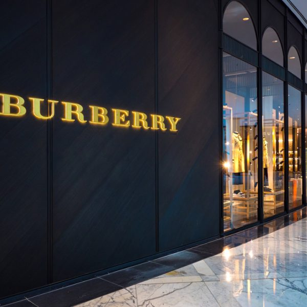 """Burberry has launched its first 'social media store' in China aiming to connect shoppers' """"online life with your in-store life""""."""