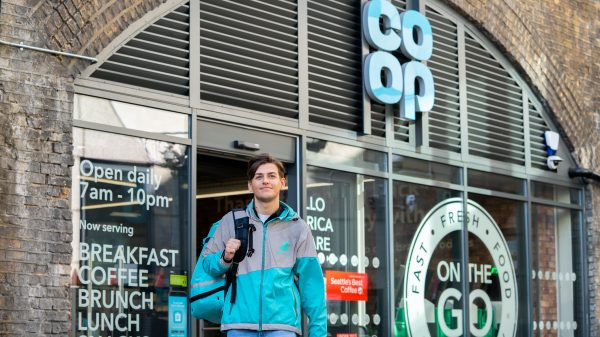Co-op is teaming up with Deliveroo to launch a new initiative which will deliver surplus food to foodbanks and frontline charities across the UK.