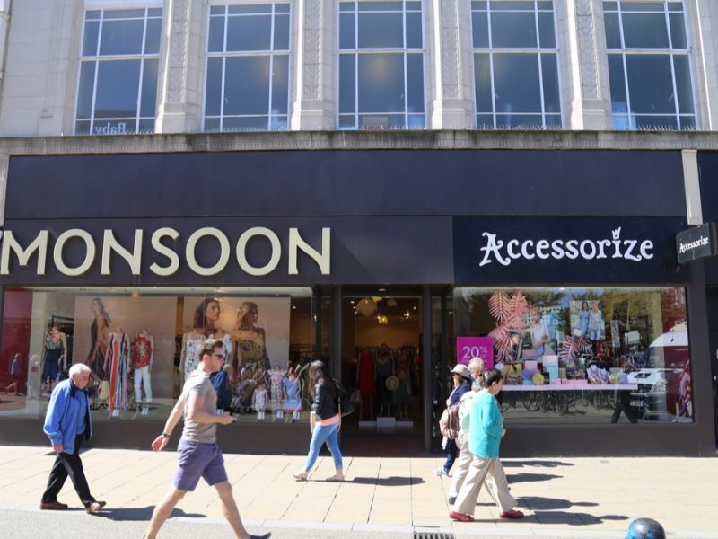 """Monsoon Accessorize has been accused of using servers with """"critical"""" vulnerabilities potentially allowing hackers to see users' details and passwords."""