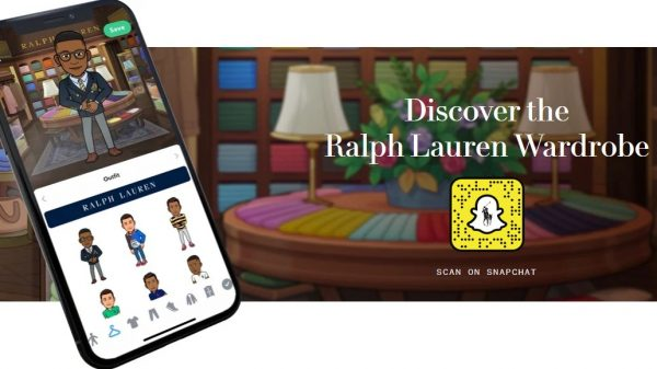 Ralph Lauren has launched a range of virtual clothes that customers can purchase to dress their digital avatars in Bitmoji.