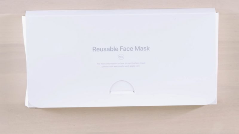 Apple has developed its very own branded Apple Face Mask to and will begin sending them to its corporate and retail employees who have returned to work over the next two weeks.