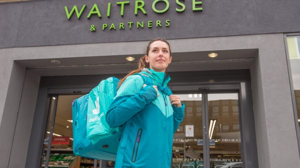 Waitrose has partnered with Deliveroo to offer grocery deliveries in as little as 30 minutes as its 19-year tie-up with Ocado comes to an end.