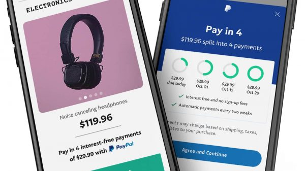 "PayPal is launching a new ""buy now, pay later"" (BNPL) option for purchases of up to £2000 at any stores which offer PayPal as a payment method in the UK."
