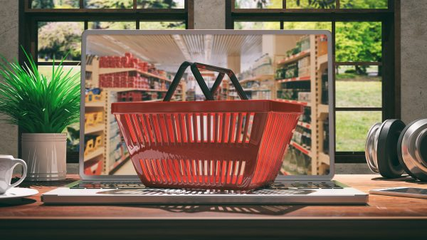 Consumer spending grew 0.2 per cent year-on-year in the month of August, thanks to a 102.7 per cent year-on-year rise in online supermarket shops.