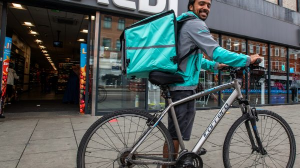 Aldi is dramatically extending its partnership with Deliveroo in the UK to 22 more stores while adding hundreds more items.