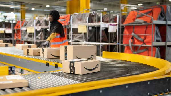 Amazon is set to hire 100,000 temporary workers this Christmas, just half the number it hired last year.