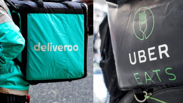 Sainsbury's has partnered with both Uber Eats and Deliveroo as it scrambles to rapidly expand its grocery delivery capacity in time for Christmas.