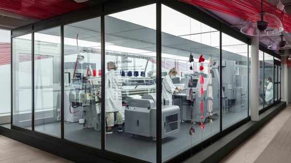 "H&M is set to launch a cutting-edge ""garment-to-garment recycling system"" in its store, which will shred old clothes and spin them into brand new ones in front of customers."