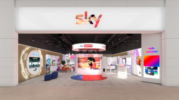 Sky is set to open its first ever bricks-and-mortar concept store next week in a major vote of confidence for the struggling high street.
