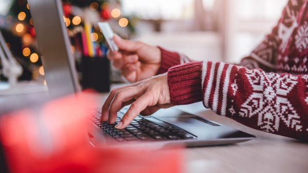 "Online spending is due to overtake physical store sales for the first time ever this Christmas rising to a ""record-breaking"" £39.41 billion."