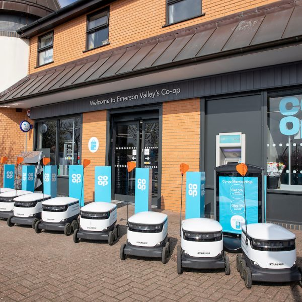 Co-op is dramatically ramping up the use of self-driving delivery robots to thousands more customers after delivery numbers tripled during lockdown.