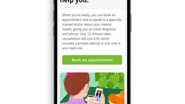 "Superdrug has launched a new ""doctor-led"" mental health app offering users virtual consultations, diagnosis and support."