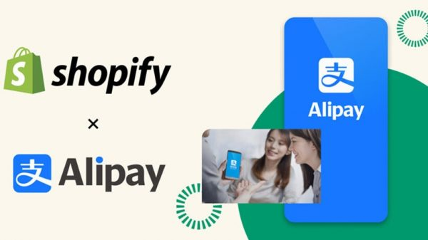 "Shopify merchants will now be able to receive payments through Alipay opening their stores to ""more than a billion people in China""."