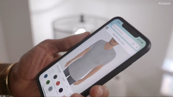 "Amazon to launch custom t-shirt service using ""virtual body doubles"" based on customer photos"